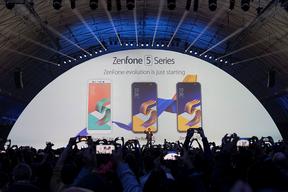 华硕发布新一代ZenFone5系列手机