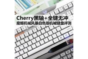 Cherry黑轴+全键无冲 魔蝎机械风暴评测