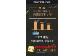 双.11疯狂2小时华硕夺京东主板销售额第一